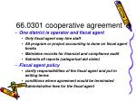 66 0301 cooperative agreement44