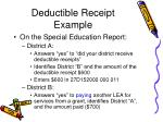 deductible receipt example81