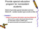 provide special education program for nonresident students32