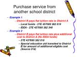 purchase service from another school district39
