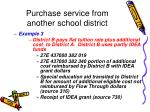 purchase service from another school district40