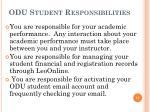 odu student responsibilities17