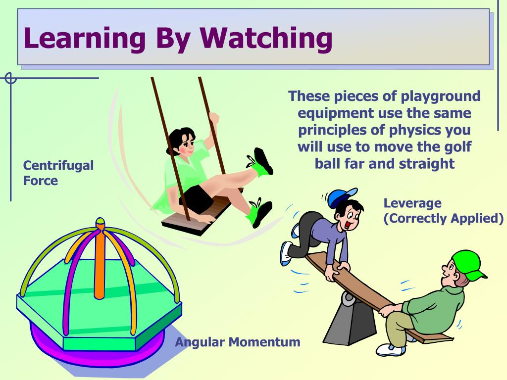 Learning By Watching