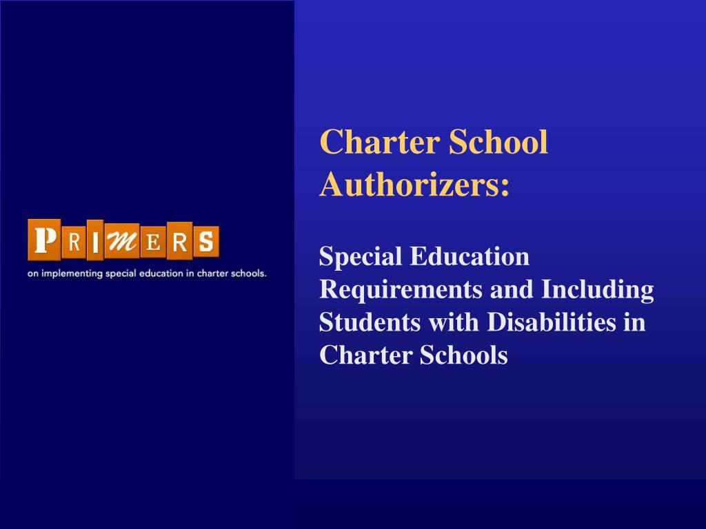 charter school authorizers l.