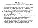 iep process lcctc iu13 16 district special education service delivery model