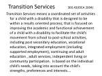 transition services 300 43 idea 2004