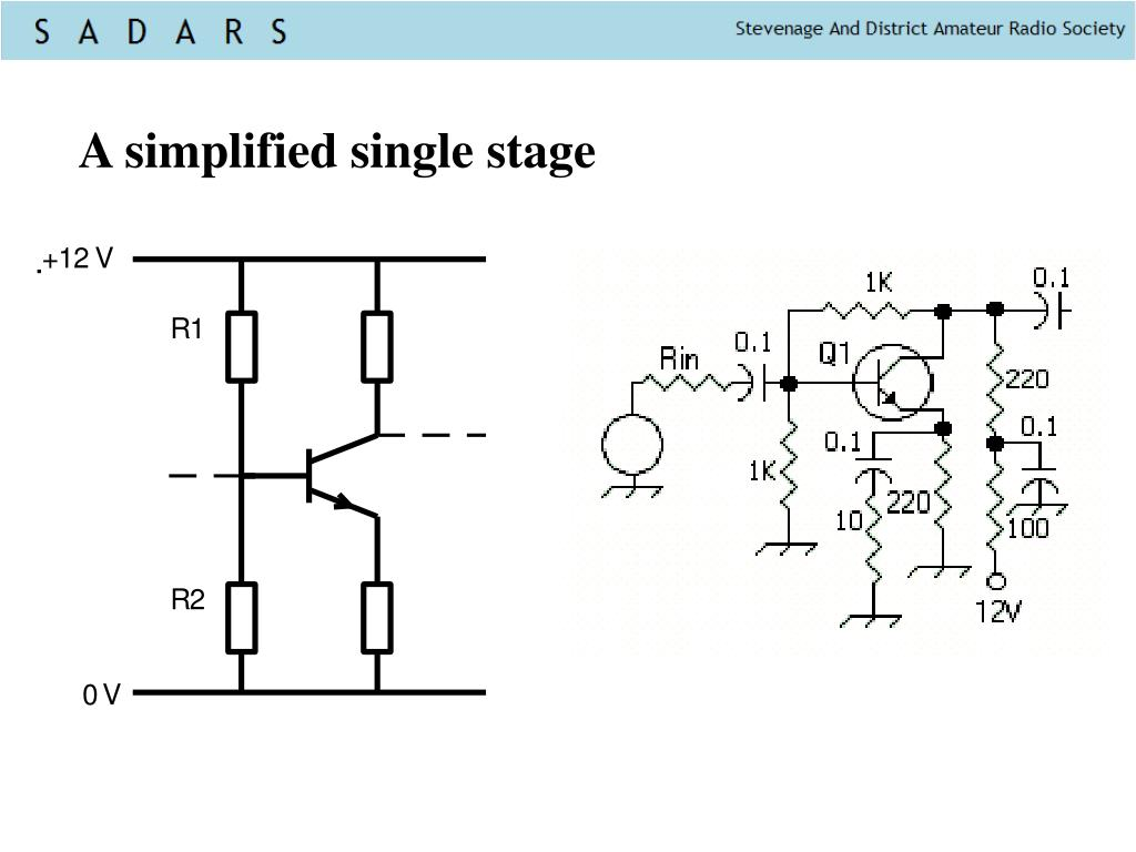A simplified single stage