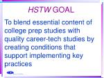 hstw goal