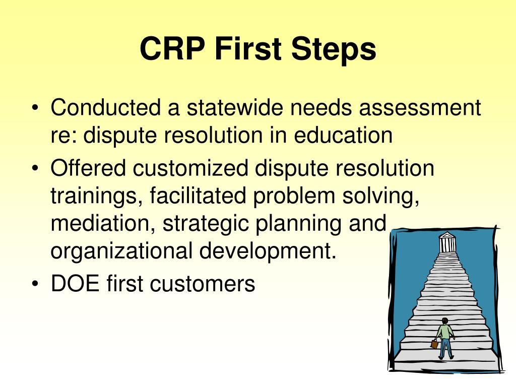CRP First Steps