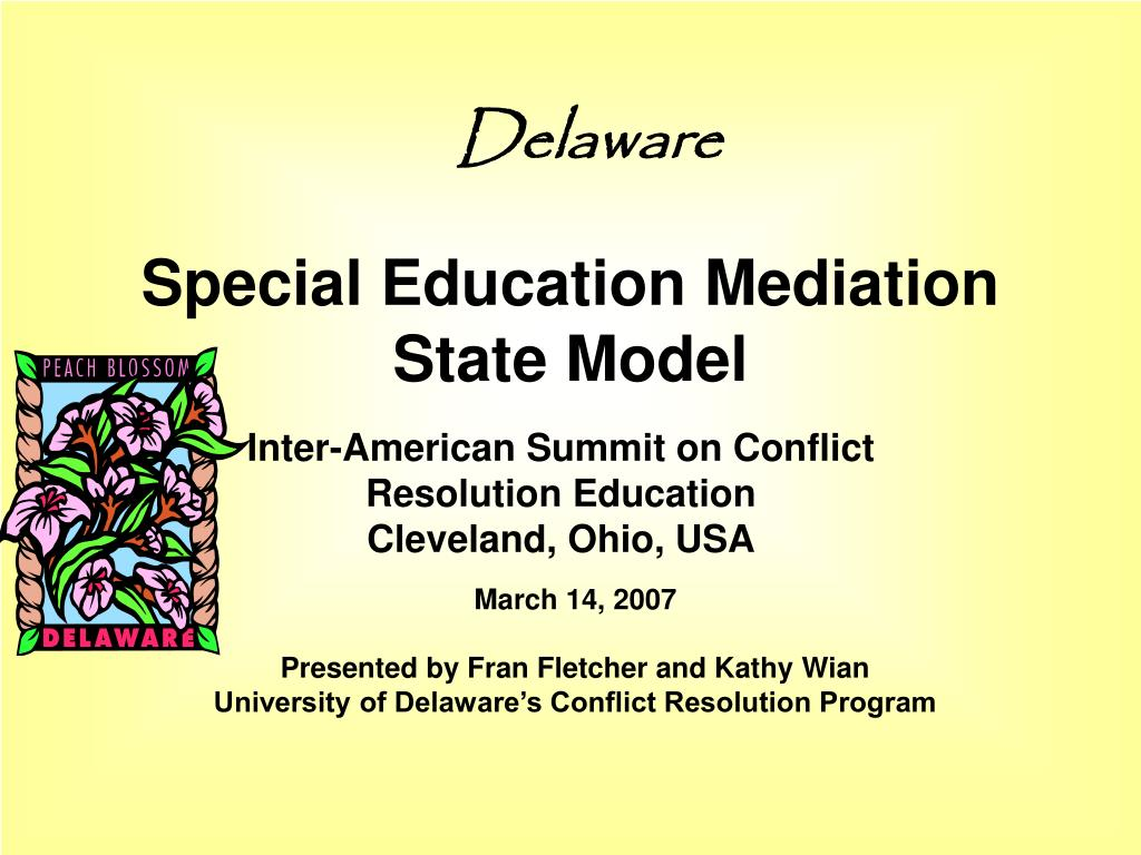special education mediation state model l.