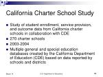 california charter school study