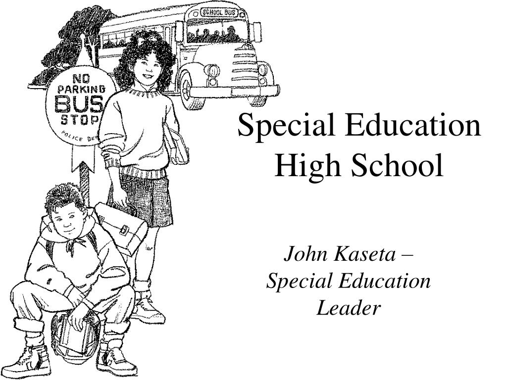 special education high school l.