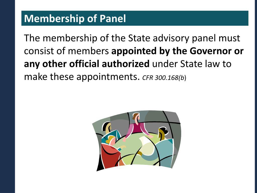 Membership of Panel