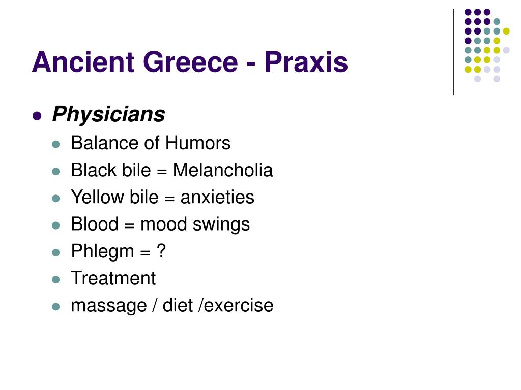 Ancient Greece - Praxis