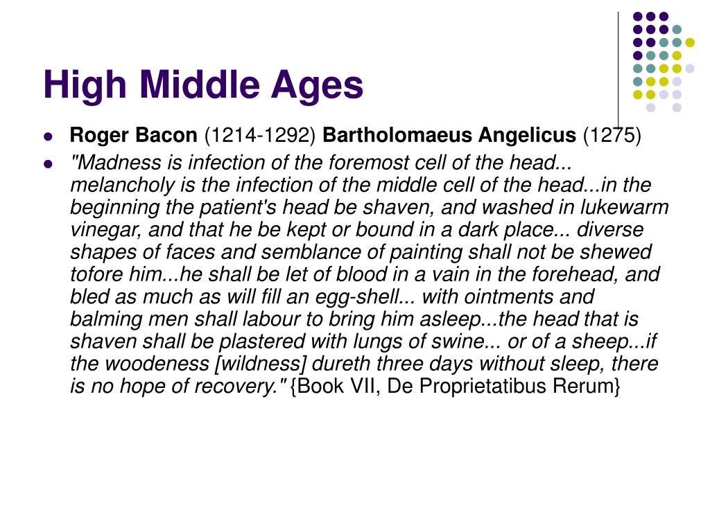 High Middle Ages