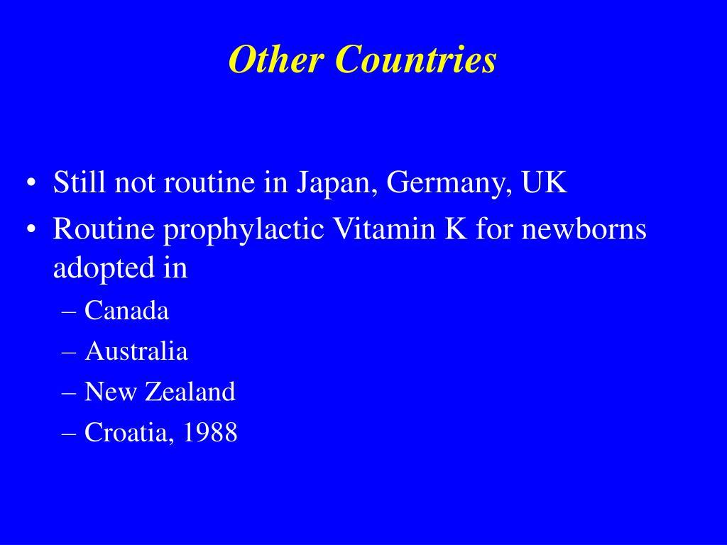 Ppt Vitamin K And Hemorrhagic Disease Of The Newborn