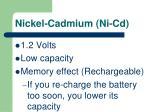 nickel cadmium ni cd