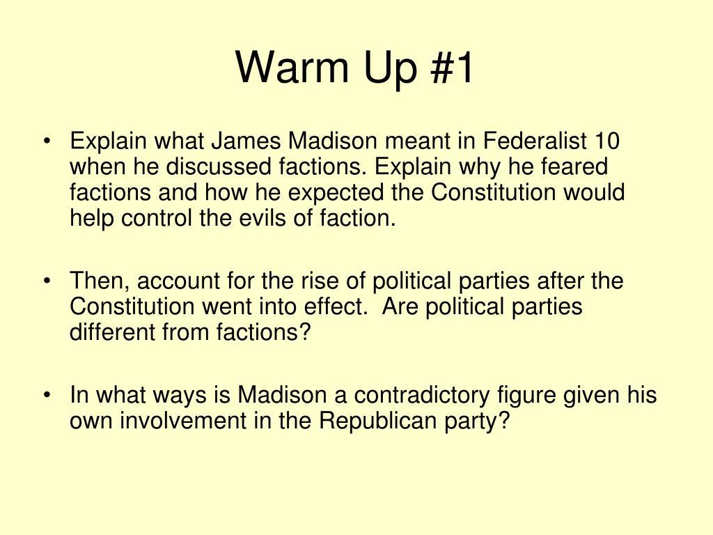 warm up 1