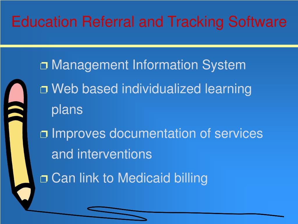 Education Referral and Tracking Software