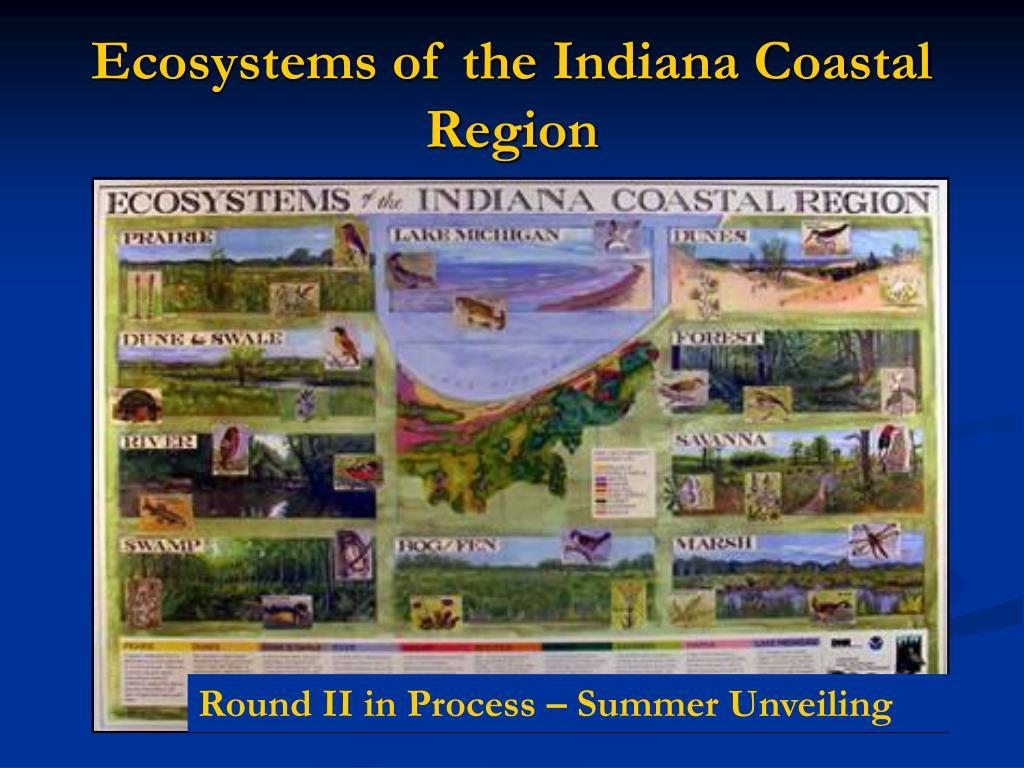 Ecosystems of the Indiana Coastal Region