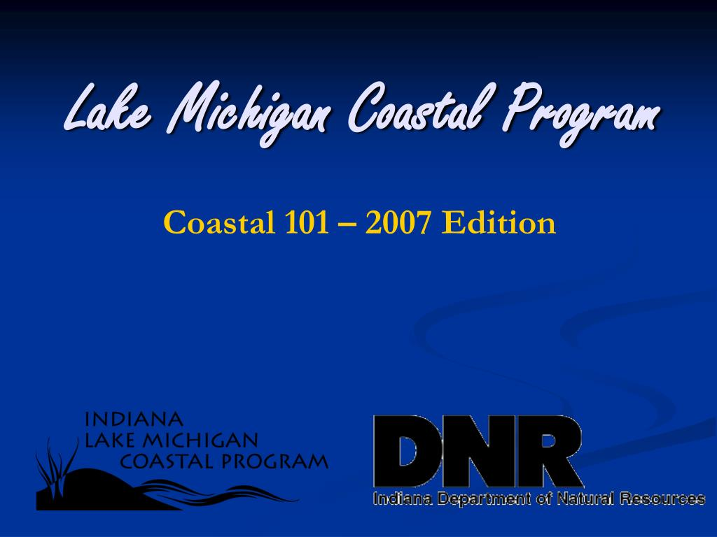 lake michigan coastal program l.