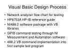visual basic design process