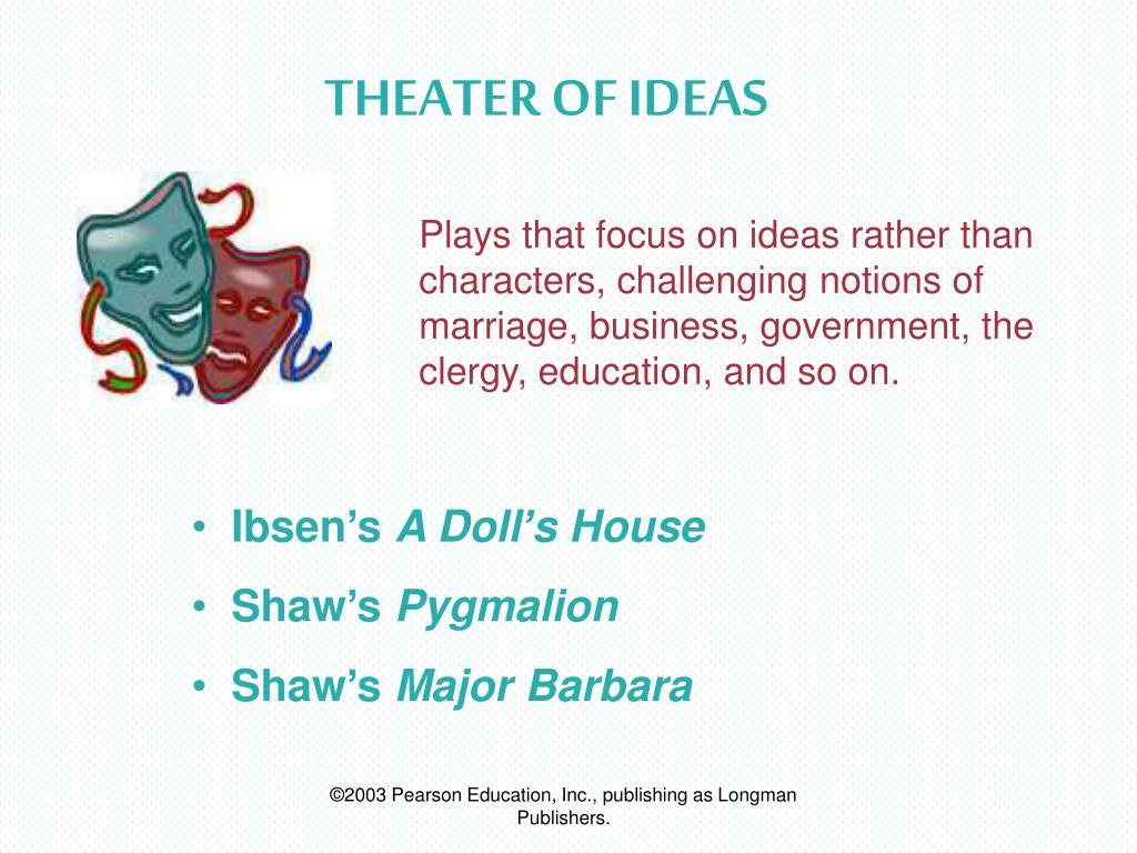 THEATER OF IDEAS