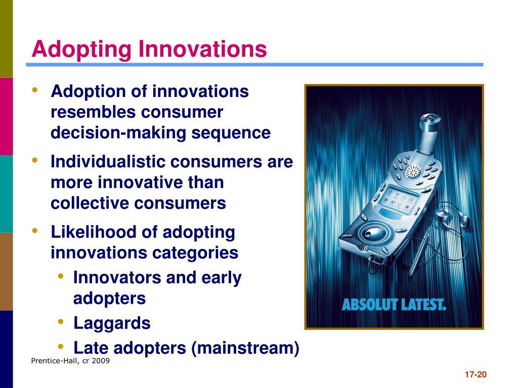 Adopting Innovations