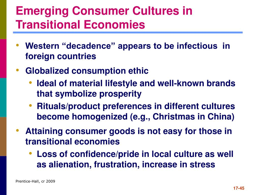 Emerging Consumer Cultures in Transitional Economies