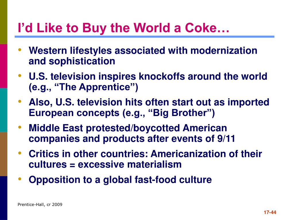 I'd Like to Buy the World a Coke…
