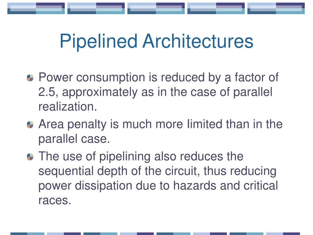 Pipelined Architectures