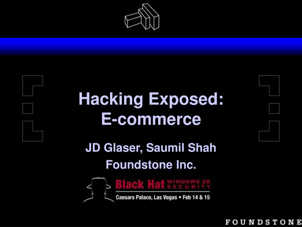 hacking exposed e commerce l.
