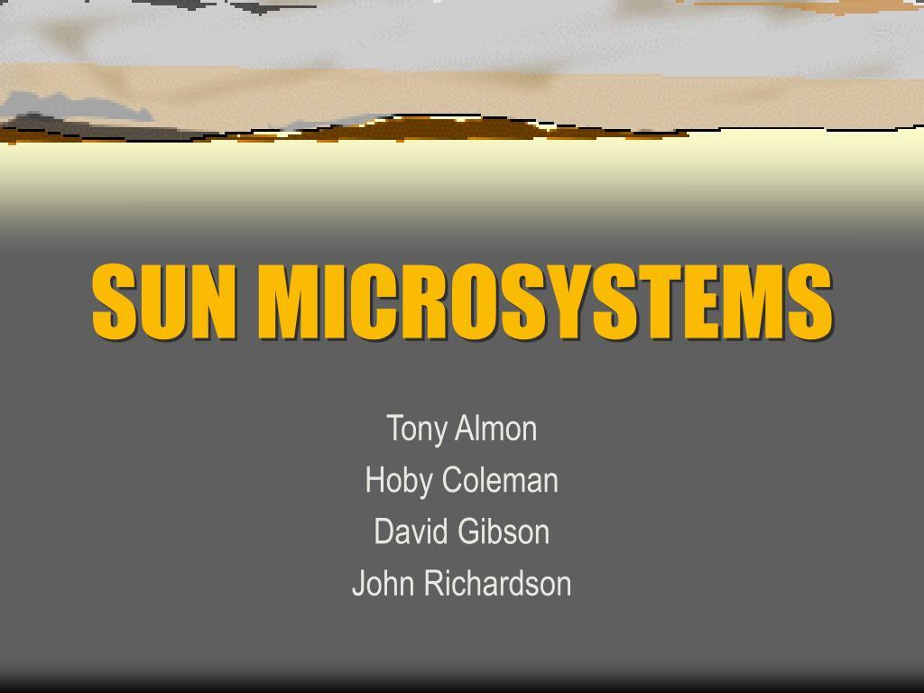 sun microsystems l.
