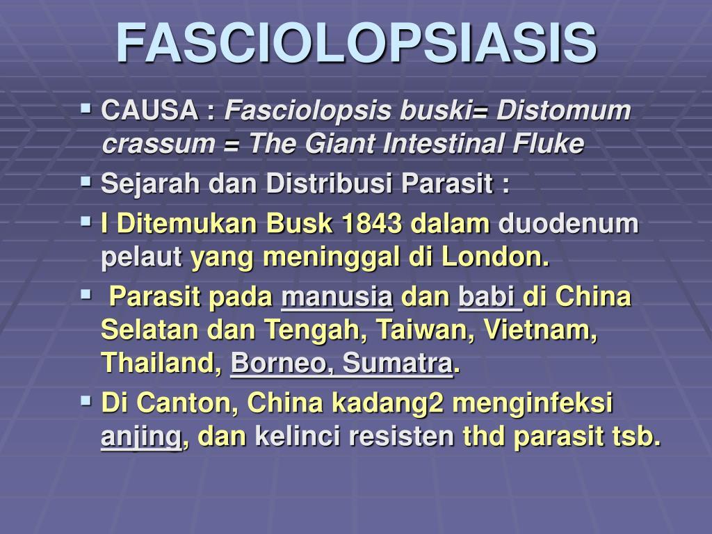 FASCIOLOPSIASIS