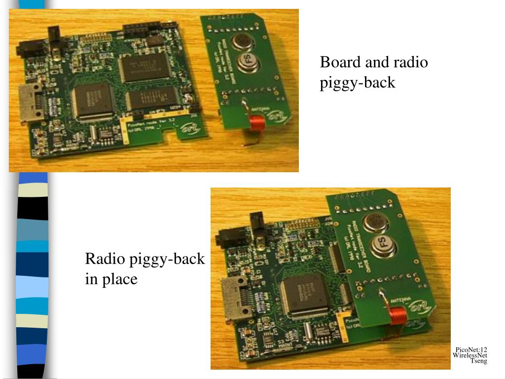 Board and radio