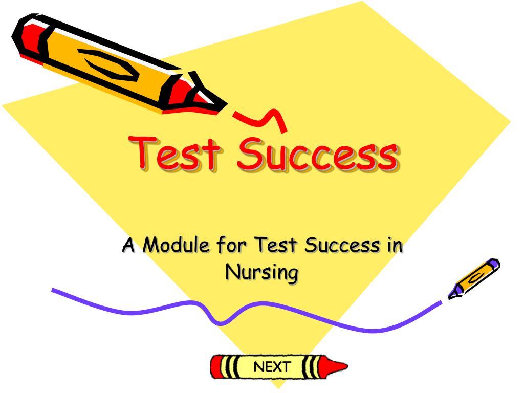 test success l.