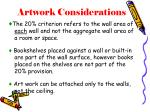 artwork considerations