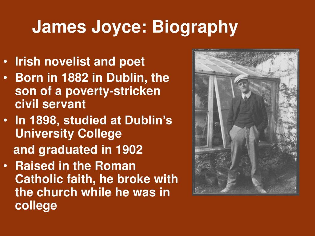 James Joyce: Biography