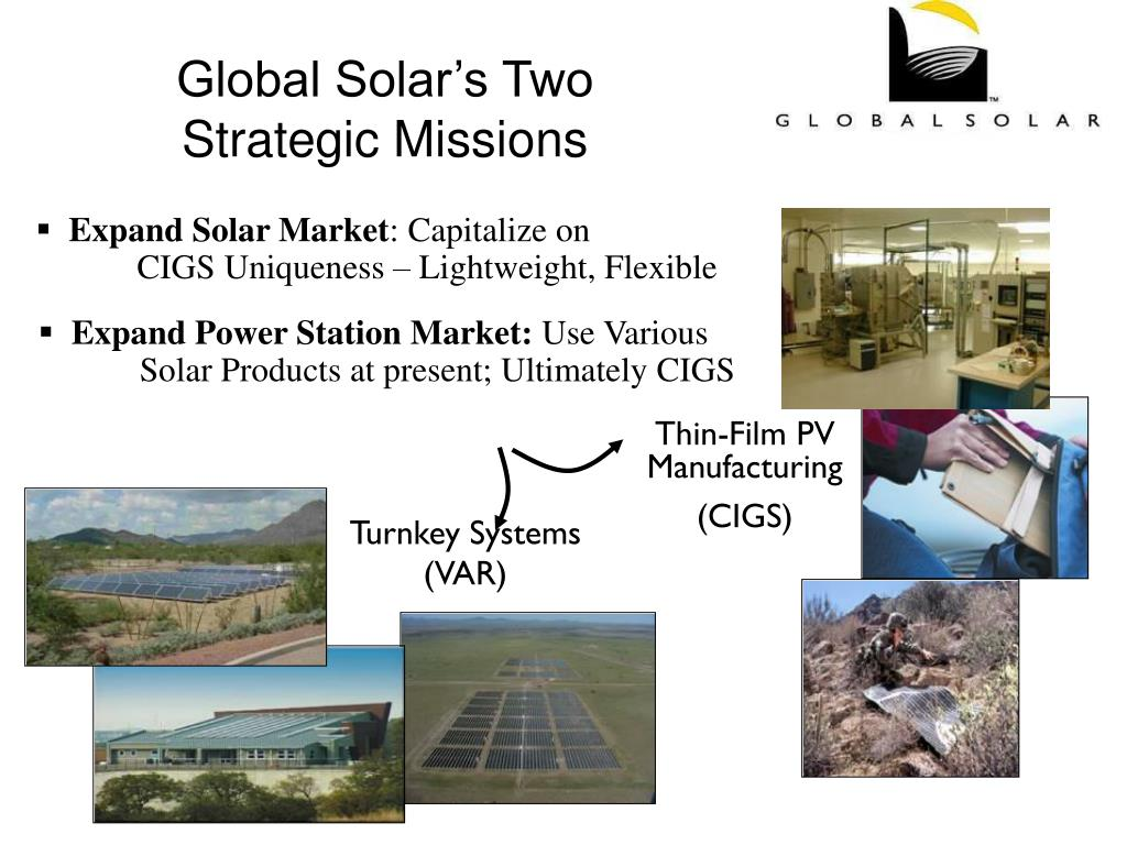 Global Solar's Two