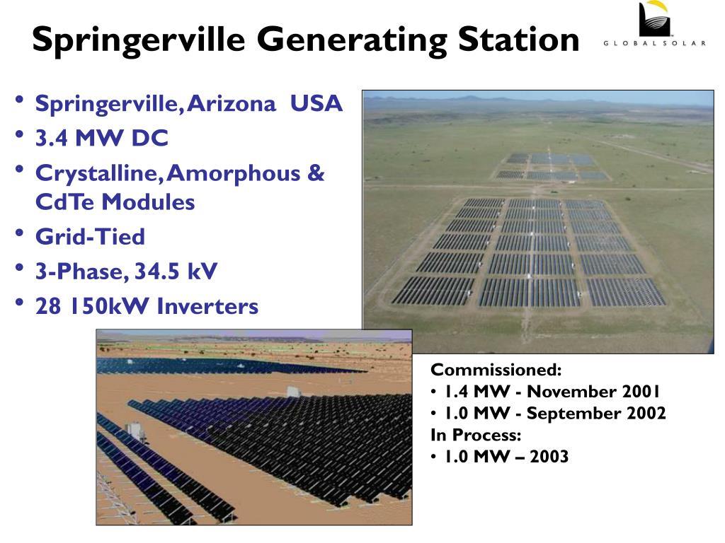 Springerville Generating Station