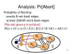 analysis pr abort
