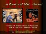 as romeo and juliet the end