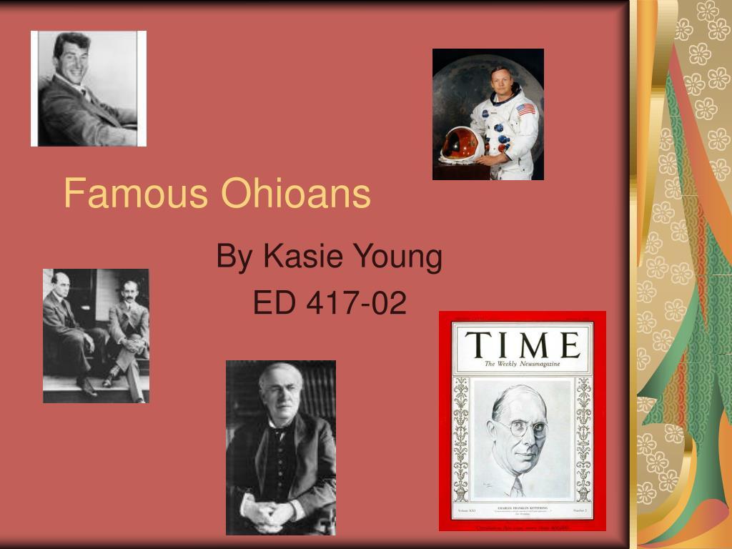 famous ohioans l.