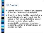 3d analyst