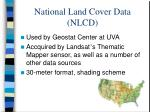 national land cover data nlcd