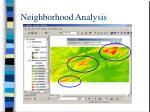 neighborhood analysis32