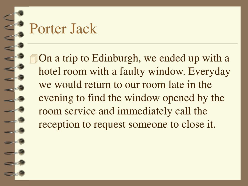 Porter Jack