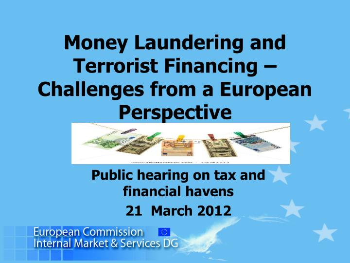 international tax havens and money laundering All the major ofcs comply with international rules on money laundering, tax information exchange and corporate governance in fact, most people use companies in ofcs for quite mundane, non-tax.