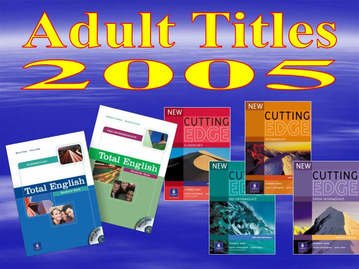 Adult Titles