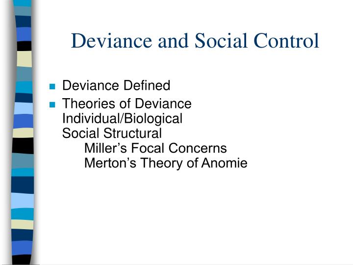 focal concerns miller Walter miller wrote that delinquency stems from focal concerns, a taste for trouble deviance results from being labeled a deviant.
